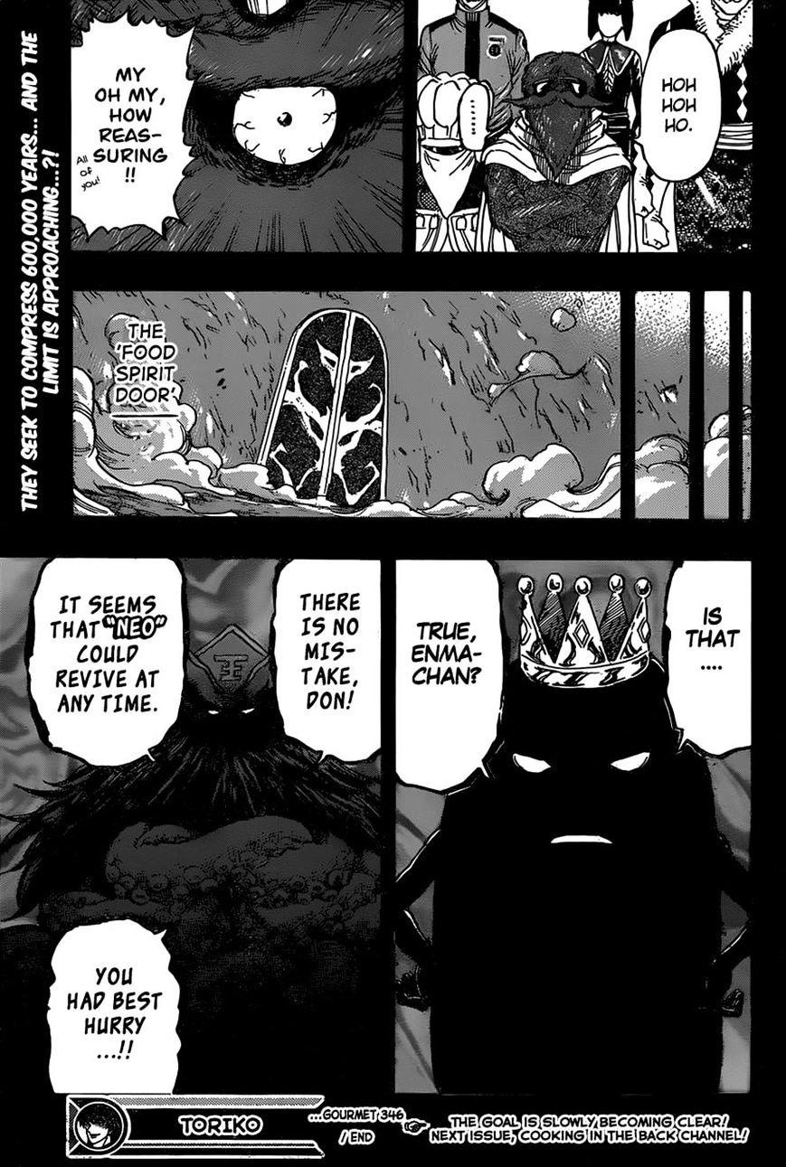 Toriko Chapter 346  Online Free Manga Read Image 19