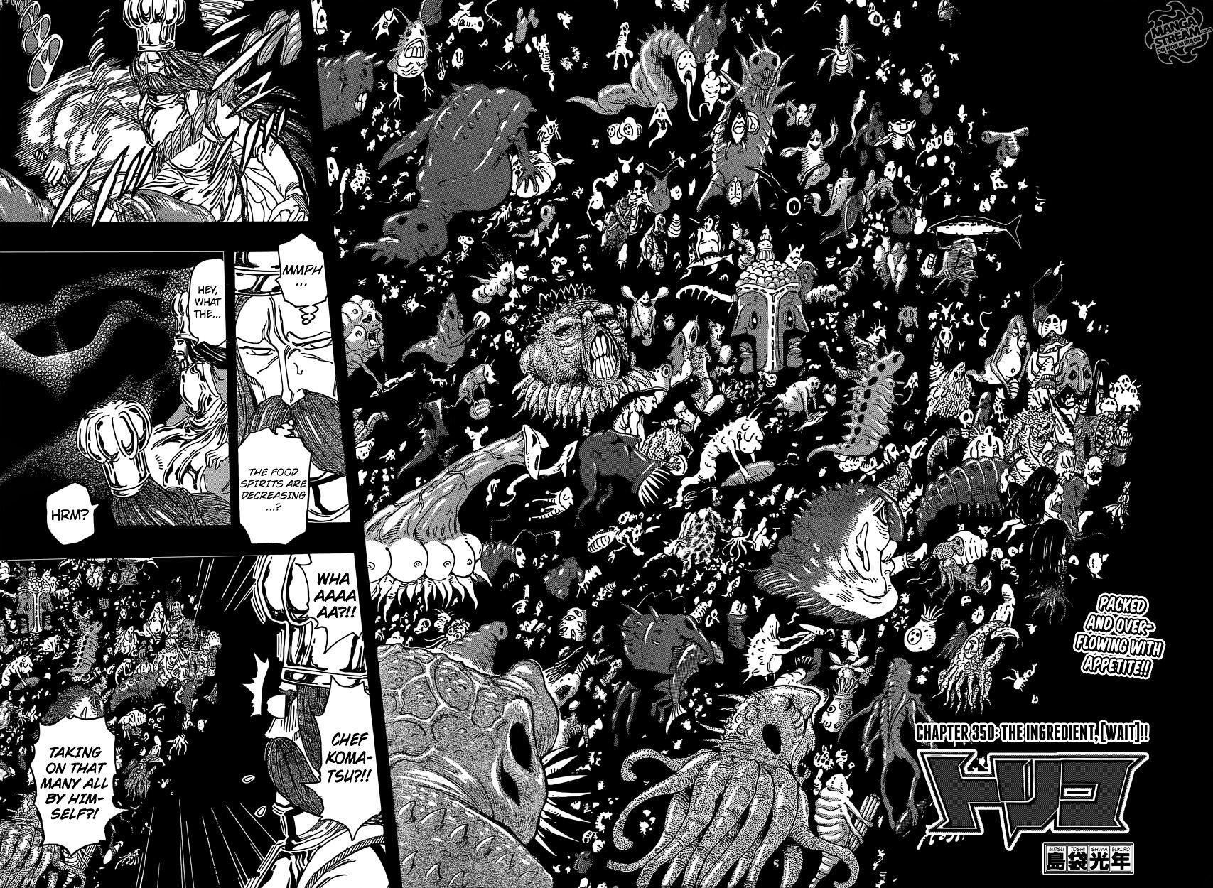 Toriko Chapter 350  Online Free Manga Read Image 4