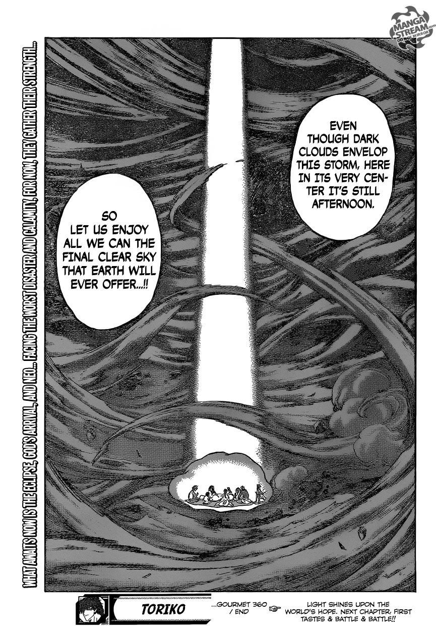 Toriko Chapter 360  Online Free Manga Read Image 17