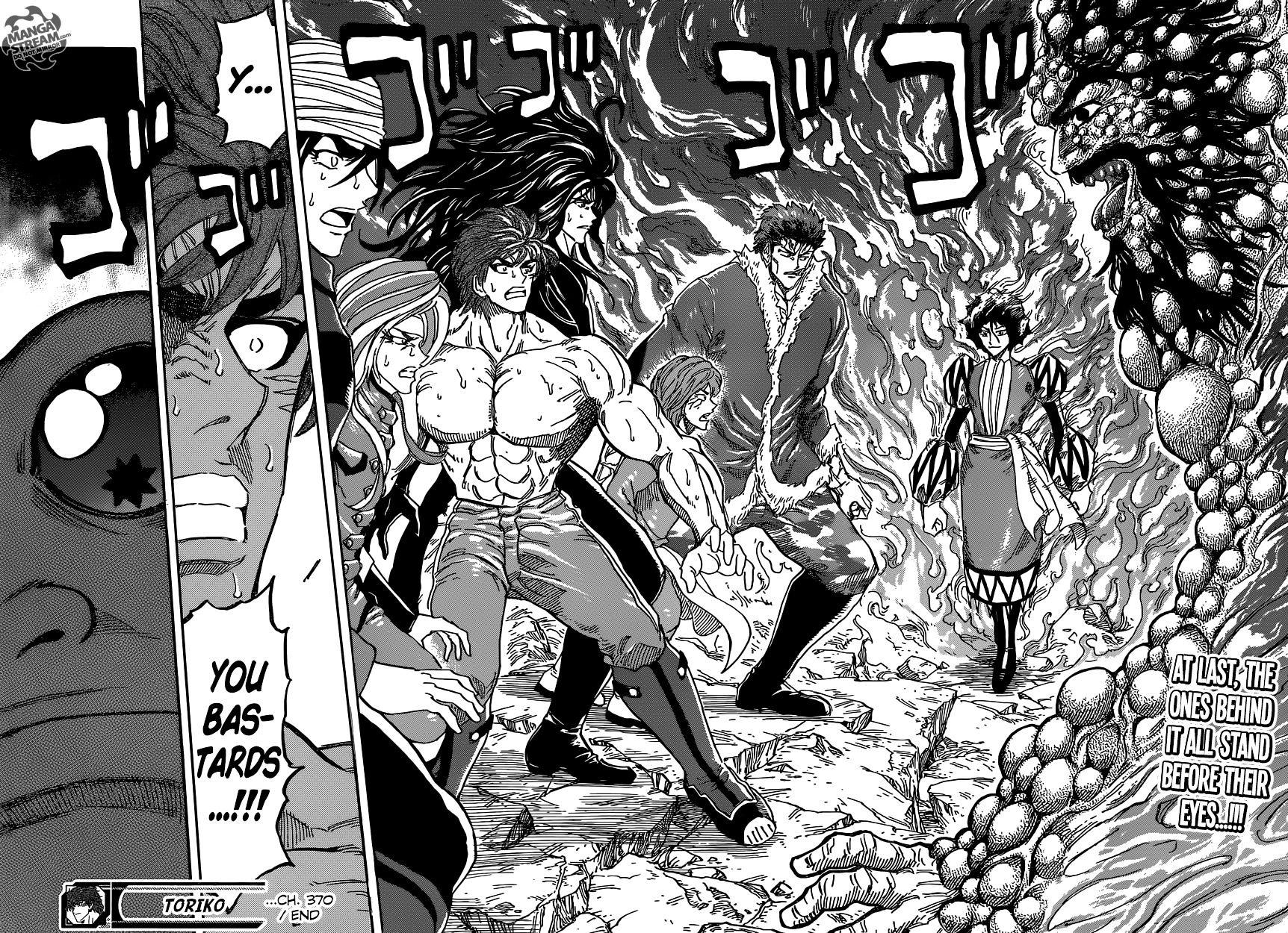 Toriko Chapter 370  Online Free Manga Read Image 18