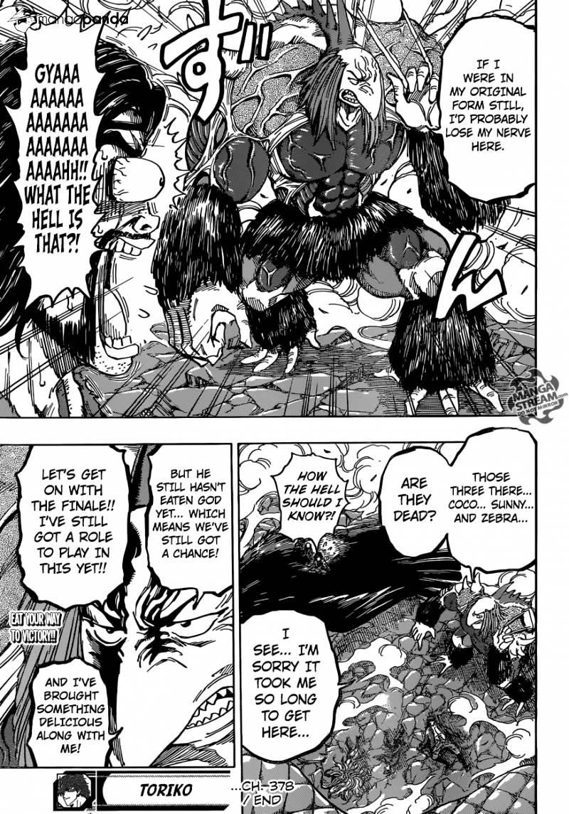 Toriko Chapter 378  Online Free Manga Read Image 19