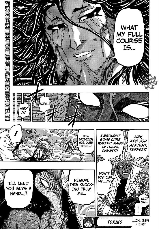Toriko Chapter 384  Online Free Manga Read Image 18