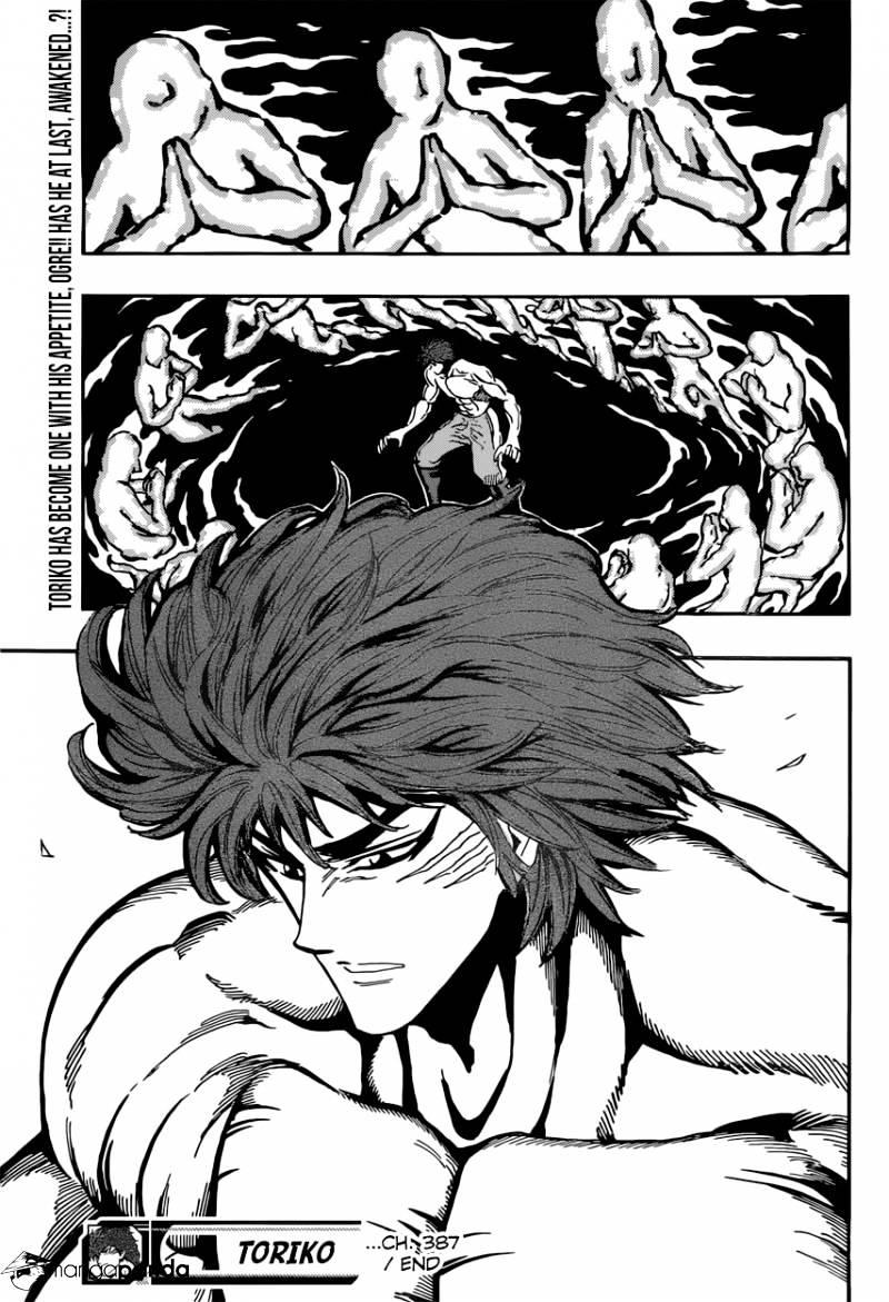 Toriko Chapter 387  Online Free Manga Read Image 19