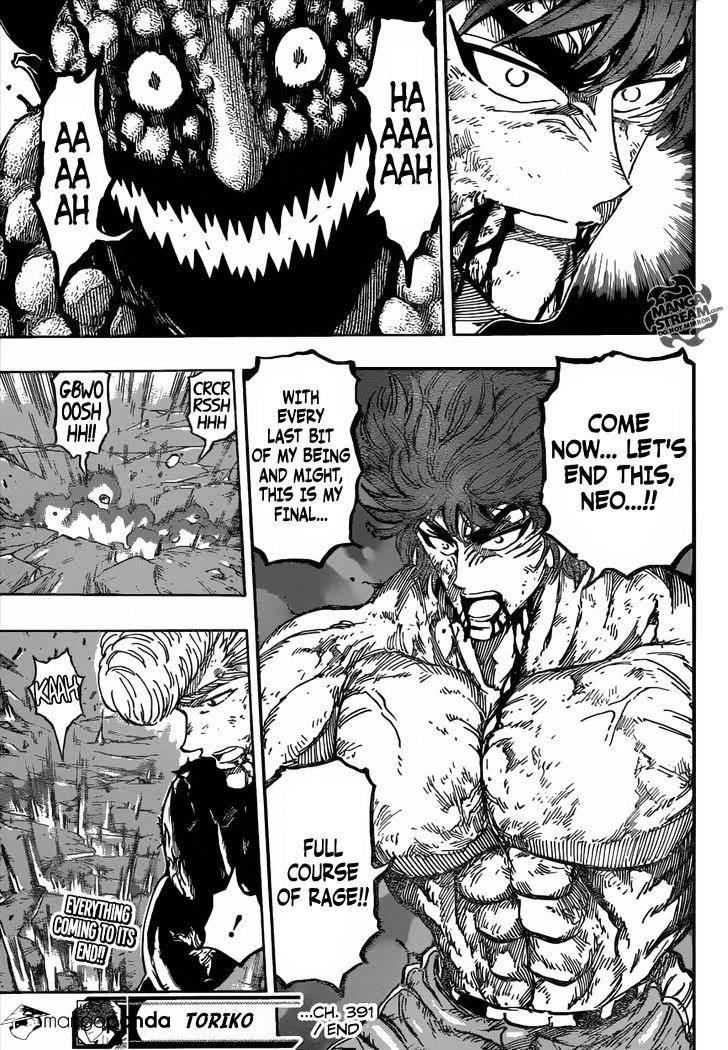 Toriko Chapter 391  Online Free Manga Read Image 20