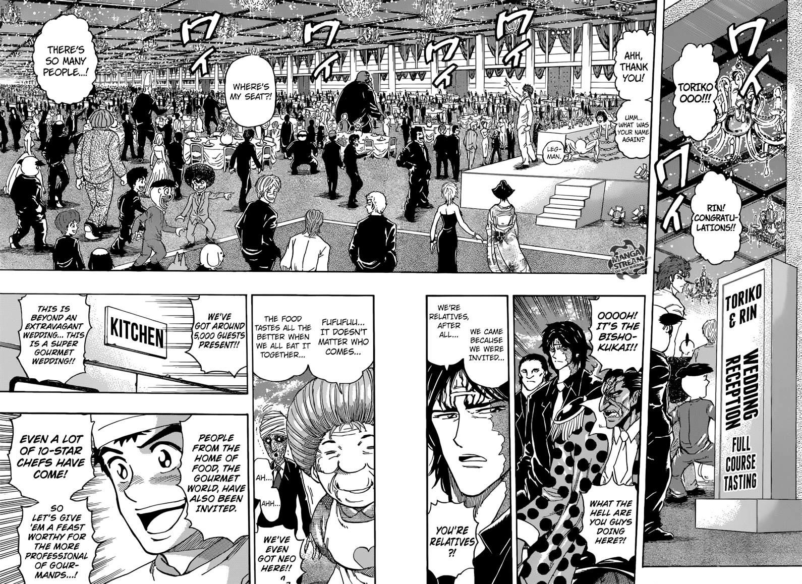 Toriko Chapter 395  Online Free Manga Read Image 6