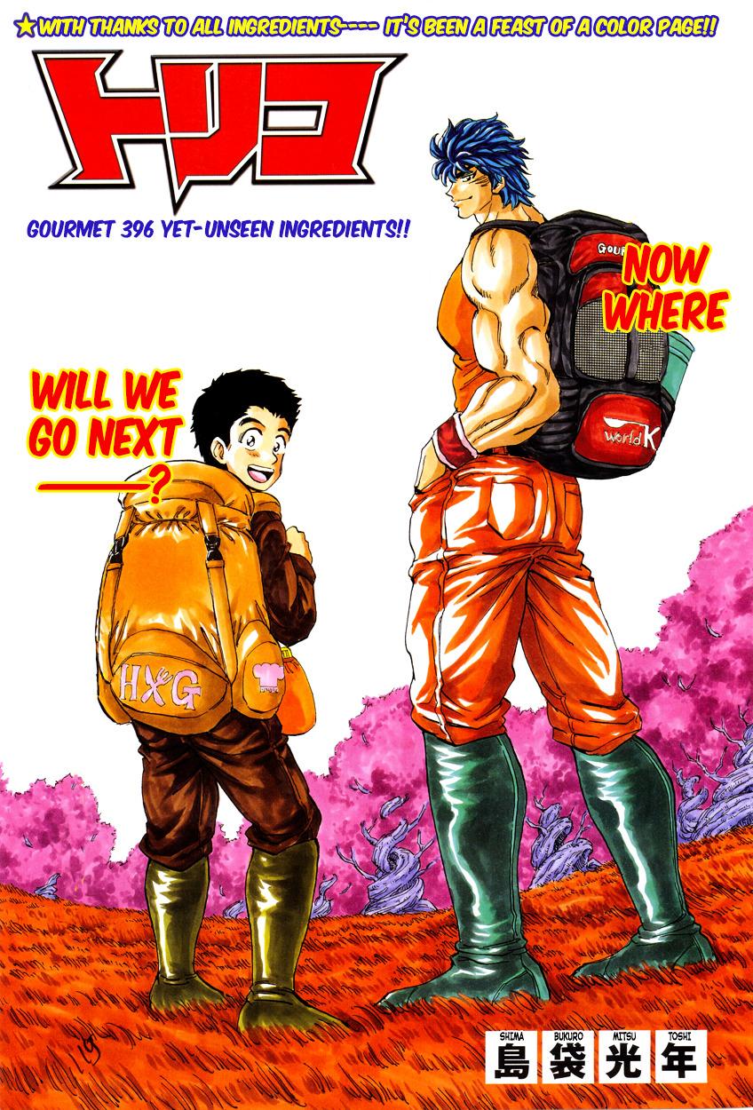 Toriko Chapter 396.2  Online Free Manga Read Image 8