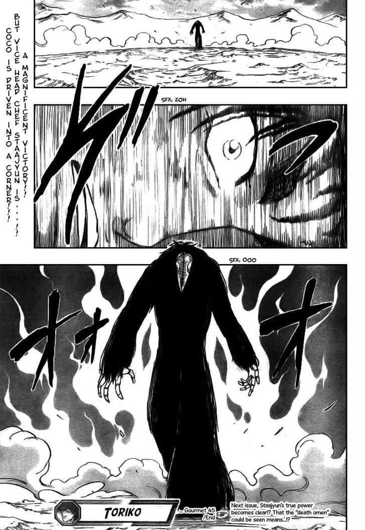 Toriko Chapter 45  Online Free Manga Read Image 19