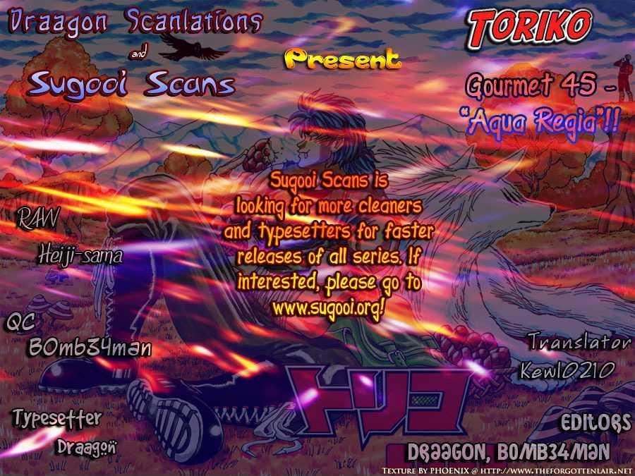 Toriko Chapter 45  Online Free Manga Read Image 20
