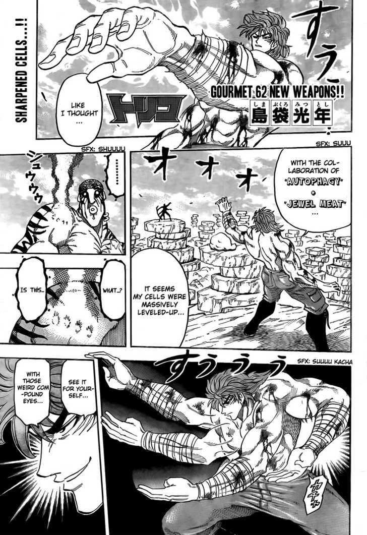 Toriko Chapter 62  Online Free Manga Read Image 3