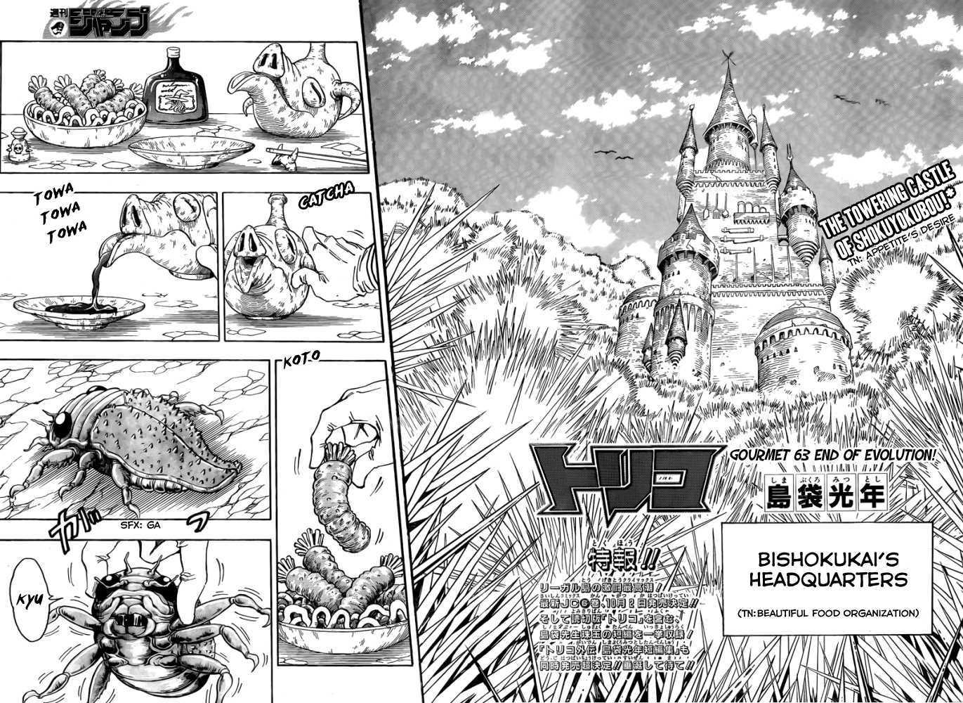 Toriko Chapter 63  Online Free Manga Read Image 3
