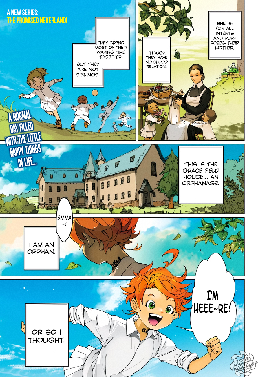 Yakusoku No Neverland Chapter 1  Online Free Manga Read Image 3
