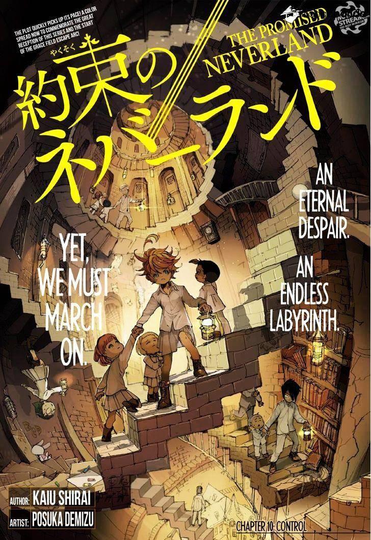 Yakusoku No Neverland Chapter 10  Online Free Manga Read Image 1