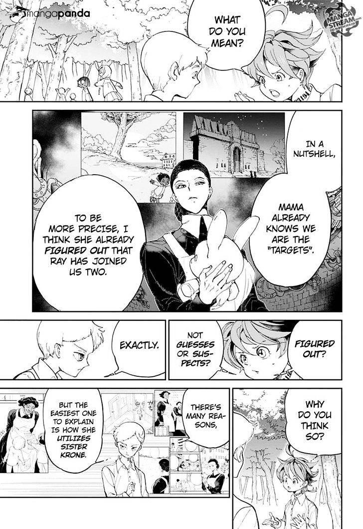 Yakusoku No Neverland Chapter 10  Online Free Manga Read Image 7