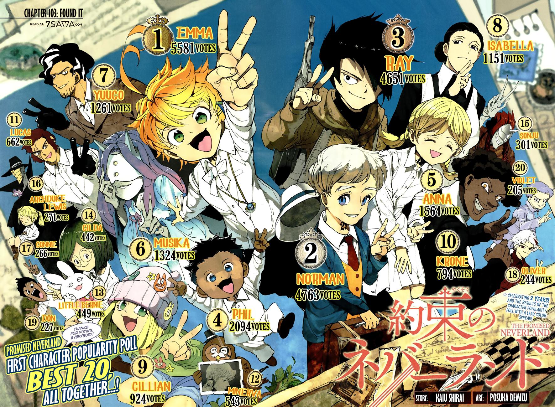 Yakusoku No Neverland Chapter 102 Online Free Manga Read Image 4