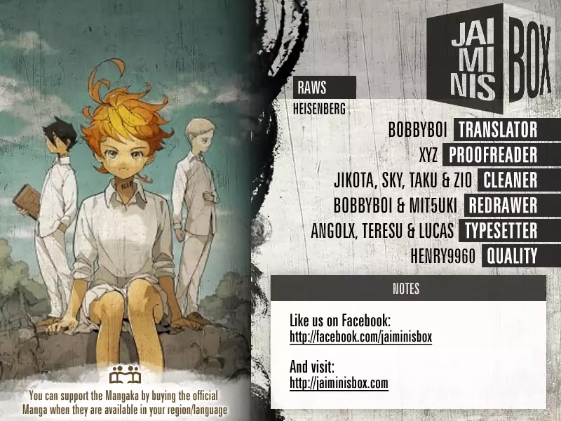 Yakusoku No Neverland Chapter 104  Online Free Manga Read Image 2