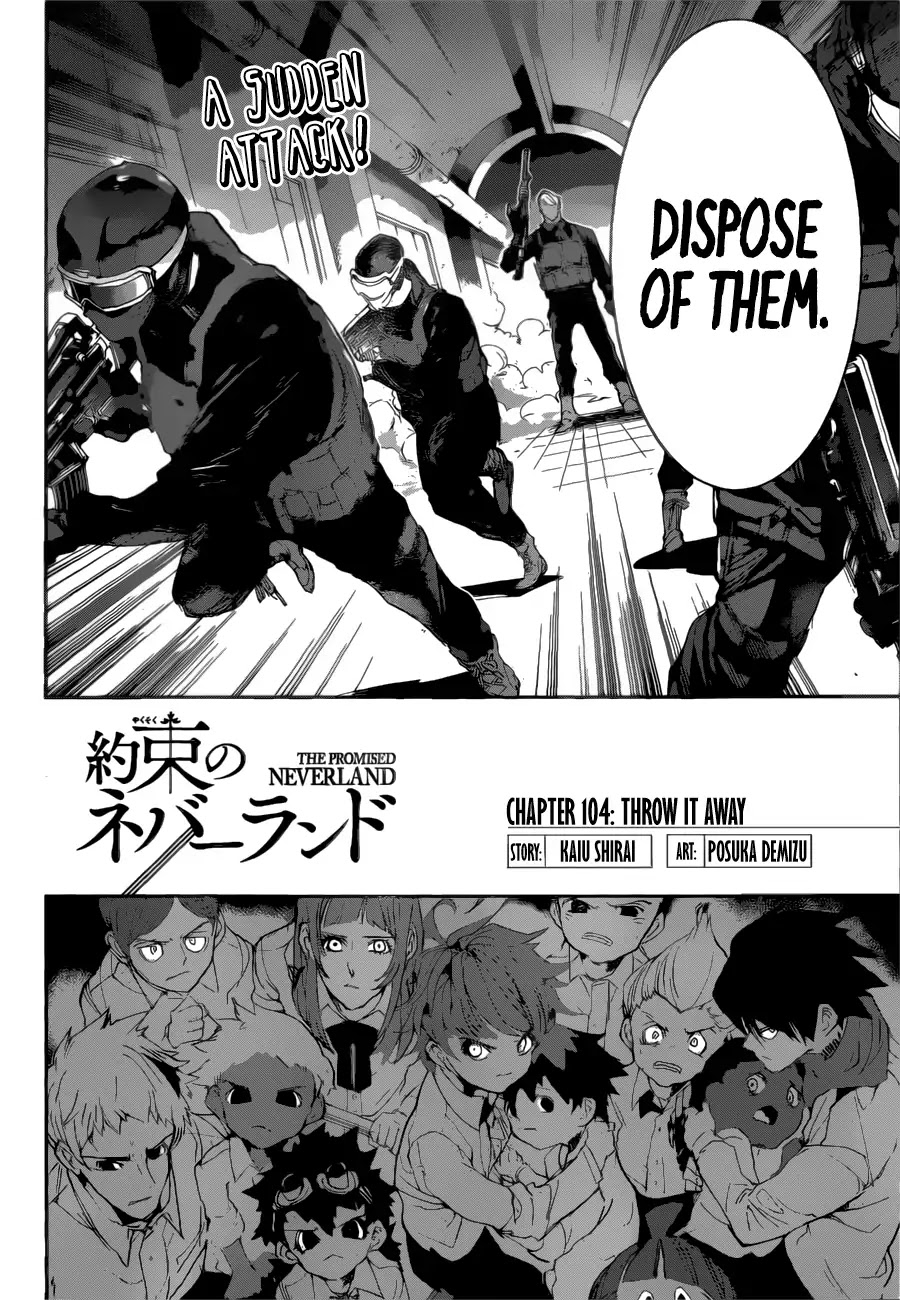 Yakusoku No Neverland Chapter 104  Online Free Manga Read Image 3