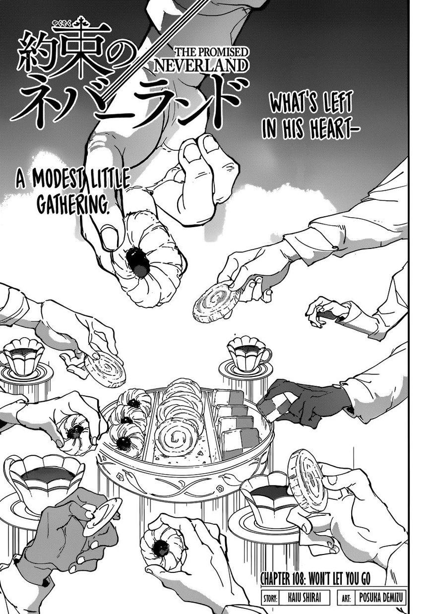 Yakusoku No Neverland Chapter 108 Online Free Manga Read Image 1