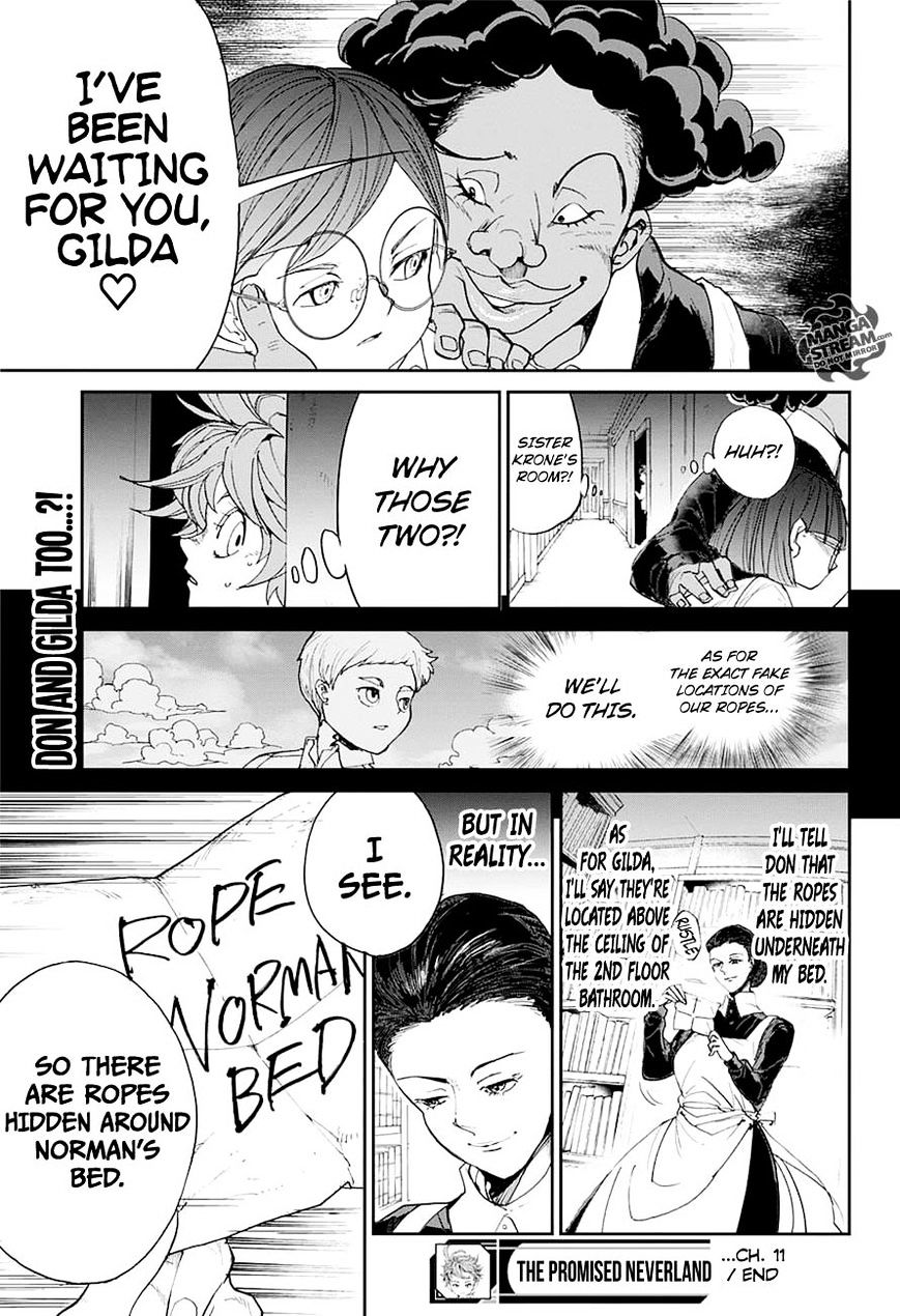 Yakusoku No Neverland Chapter 11  Online Free Manga Read Image 19