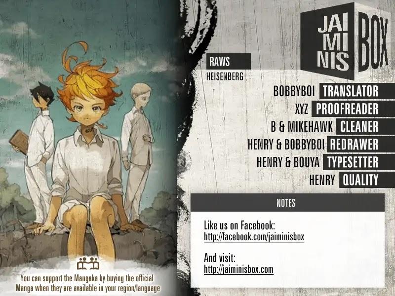 Yakusoku No Neverland Chapter 111  Online Free Manga Read Image 2