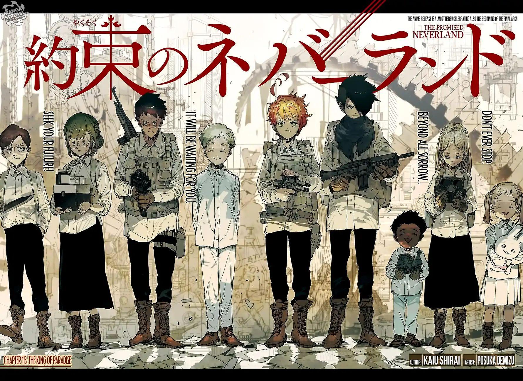 Yakusoku No Neverland Chapter 113  Online Free Manga Read Image 3