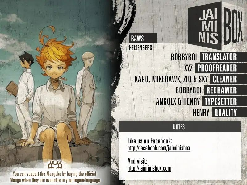 Yakusoku No Neverland Chapter 115  Online Free Manga Read Image 2