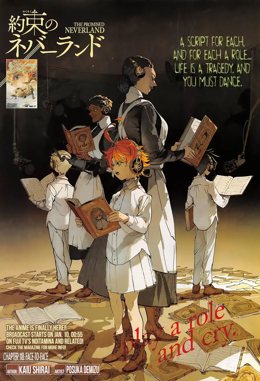 Yakusoku No Neverland Chapter 118  Online Free Manga Read Image 1