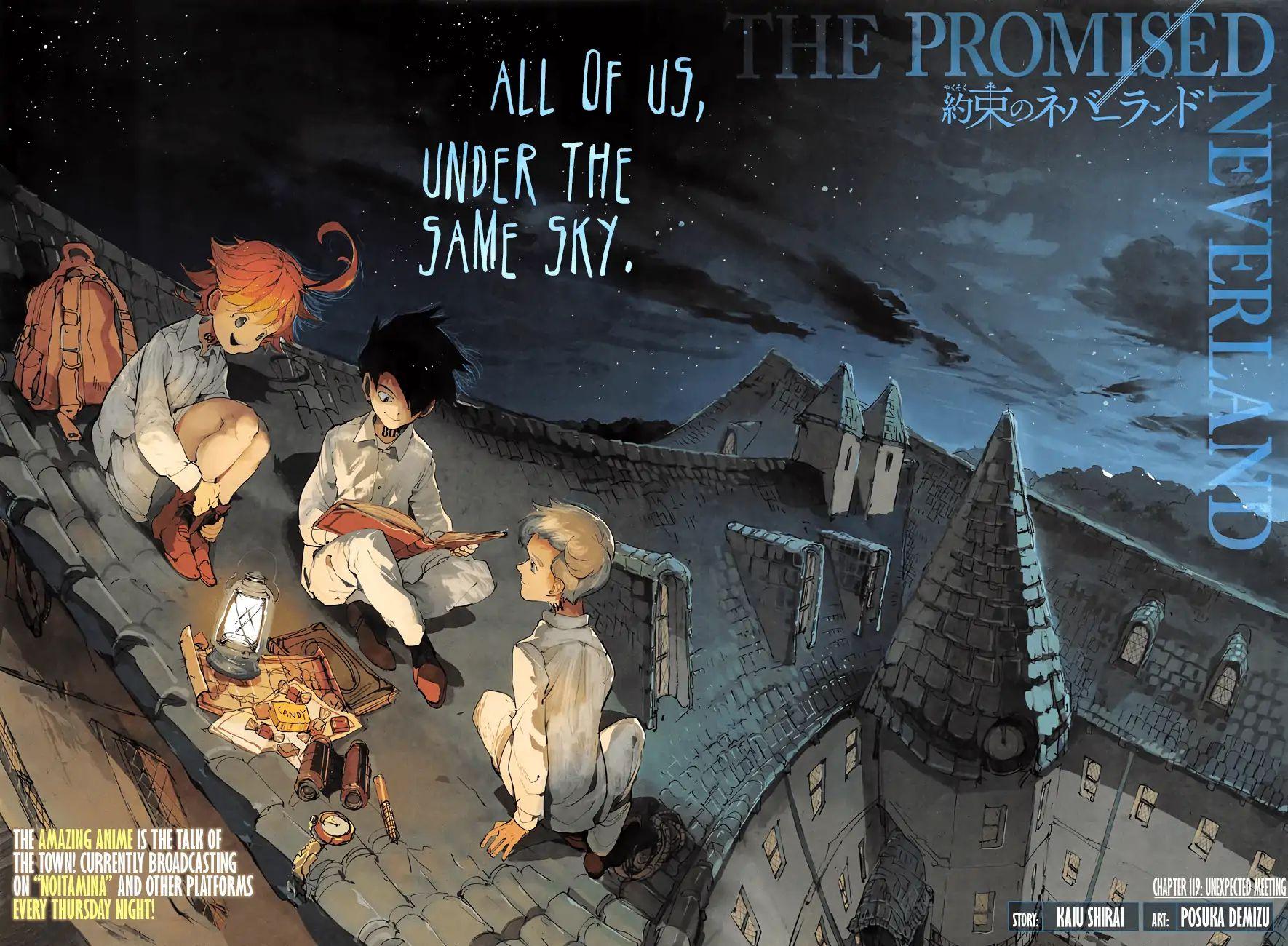 Yakusoku No Neverland Chapter 119  Online Free Manga Read Image 2