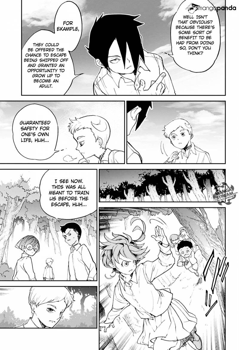 Yakusoku No Neverland Chapter 12  Online Free Manga Read Image 15