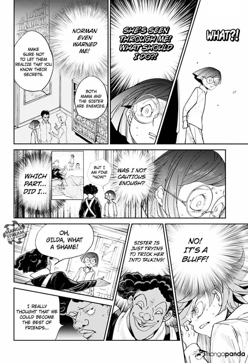 Yakusoku No Neverland Chapter 12  Online Free Manga Read Image 8