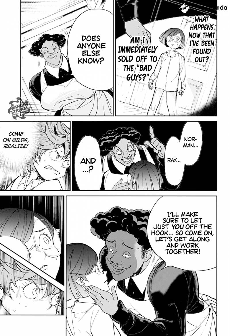 Yakusoku No Neverland Chapter 12  Online Free Manga Read Image 9