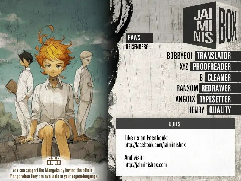 Yakusoku No Neverland Chapter 120 Online Free Manga Read Image 2