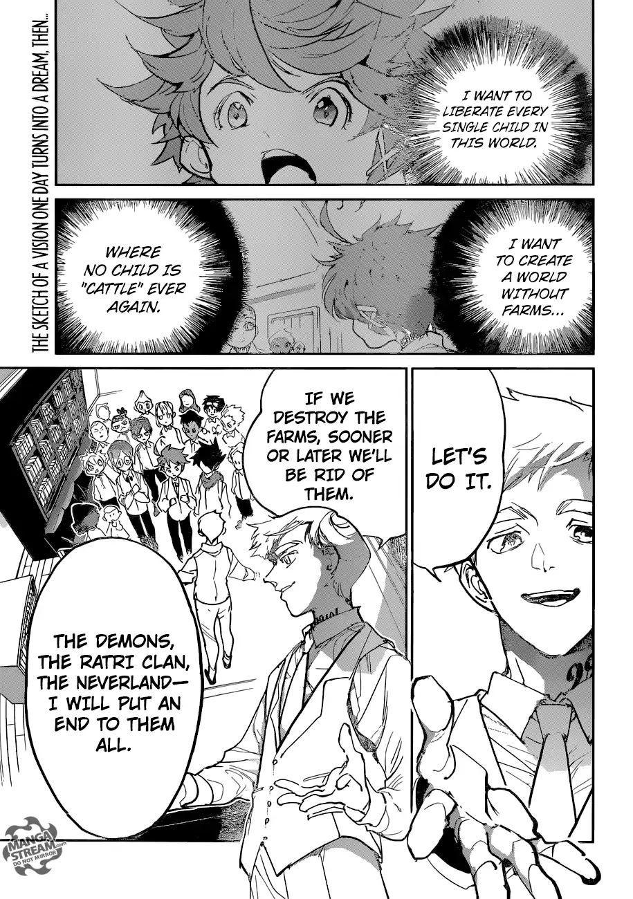 Yakusoku No Neverland Chapter 121  Online Free Manga Read Image 1