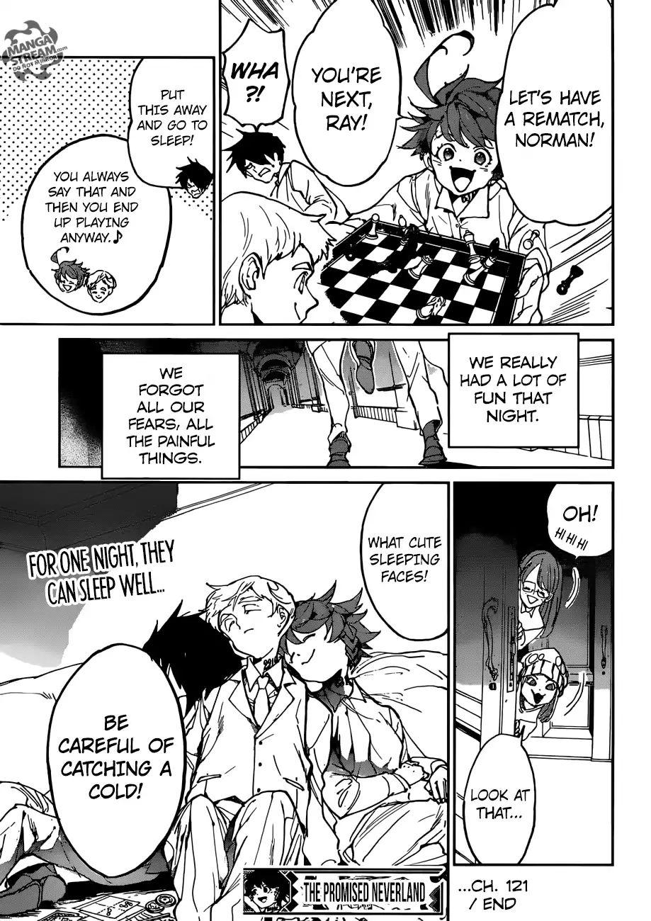 Yakusoku No Neverland Chapter 121  Online Free Manga Read Image 20