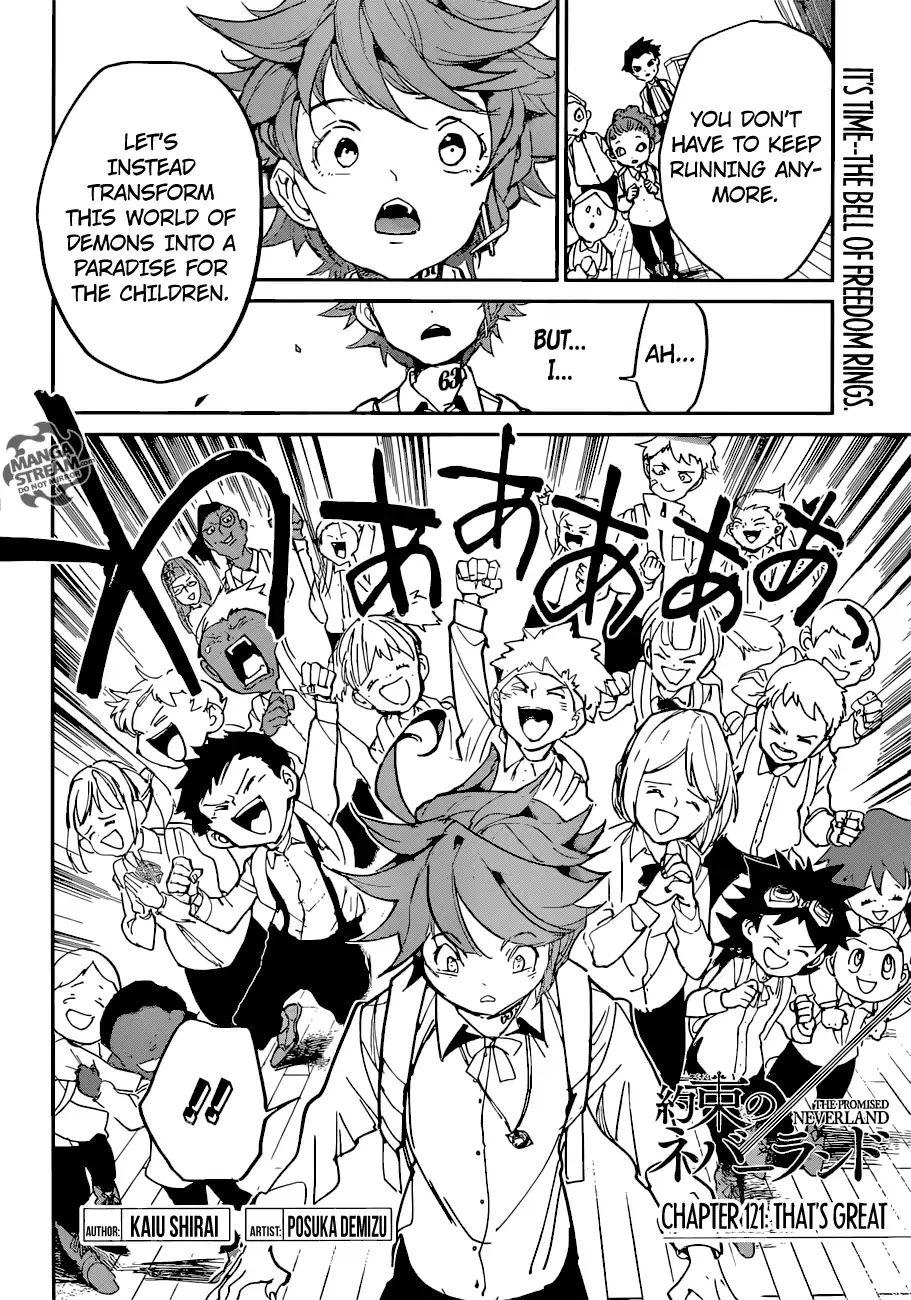 Yakusoku No Neverland Chapter 121  Online Free Manga Read Image 3