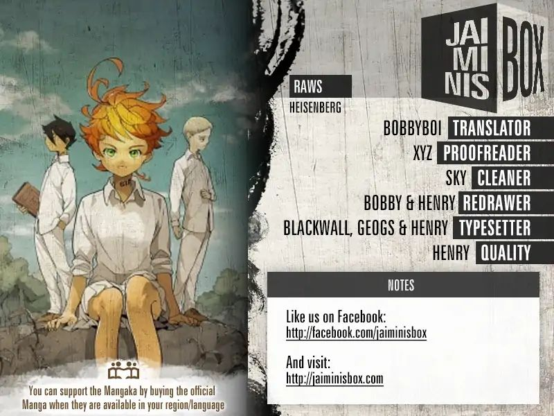 Yakusoku No Neverland Chapter 125  Online Free Manga Read Image 4