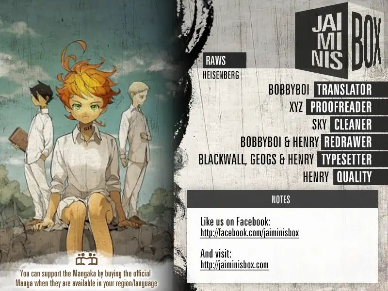 Yakusoku No Neverland Chapter 126  Online Free Manga Read Image 2