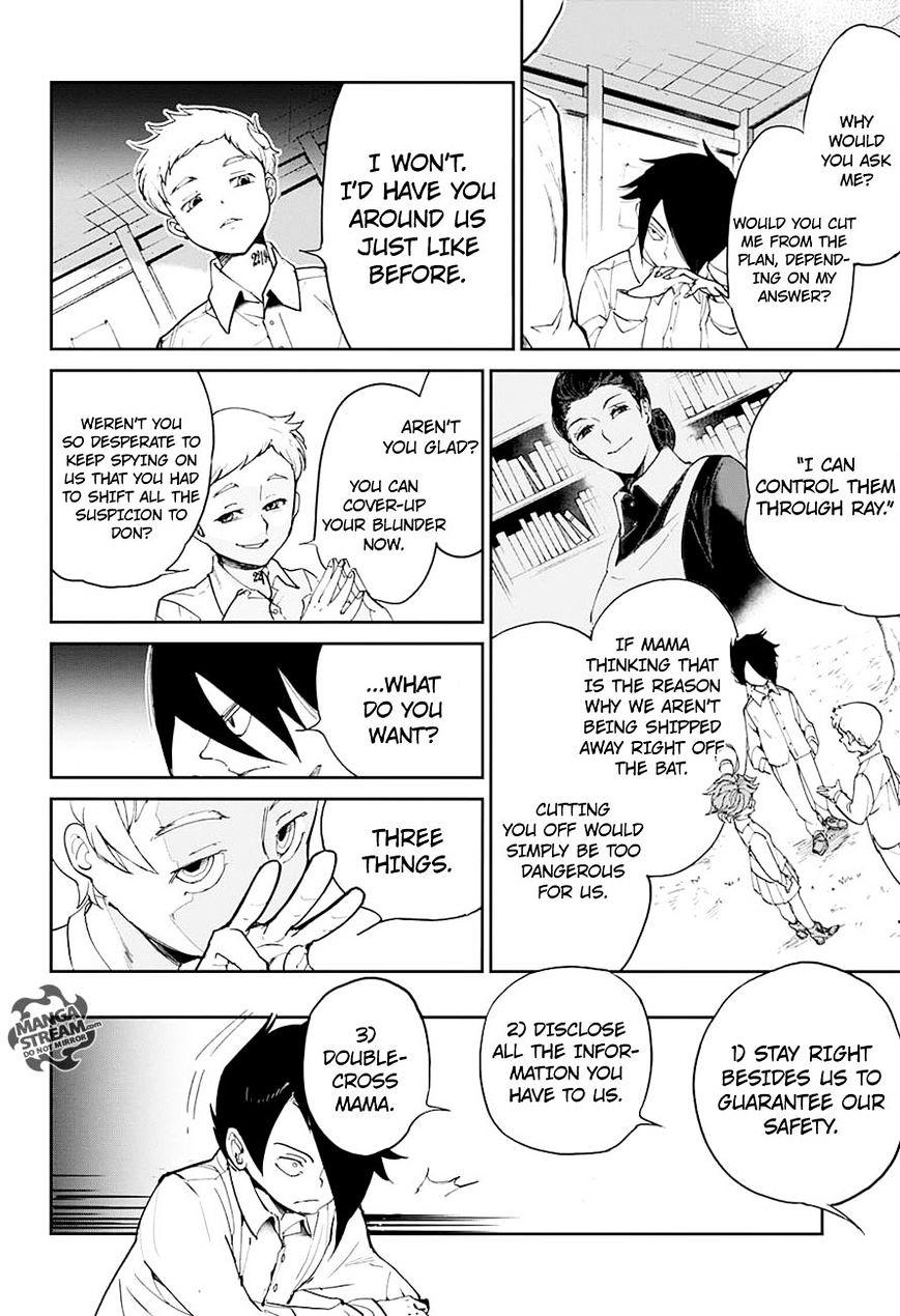 Yakusoku No Neverland Chapter 13  Online Free Manga Read Image 12