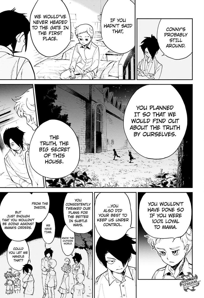 Yakusoku No Neverland Chapter 13  Online Free Manga Read Image 17