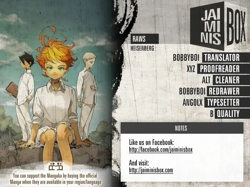 Yakusoku No Neverland Chapter 131  Online Free Manga Read Image 4