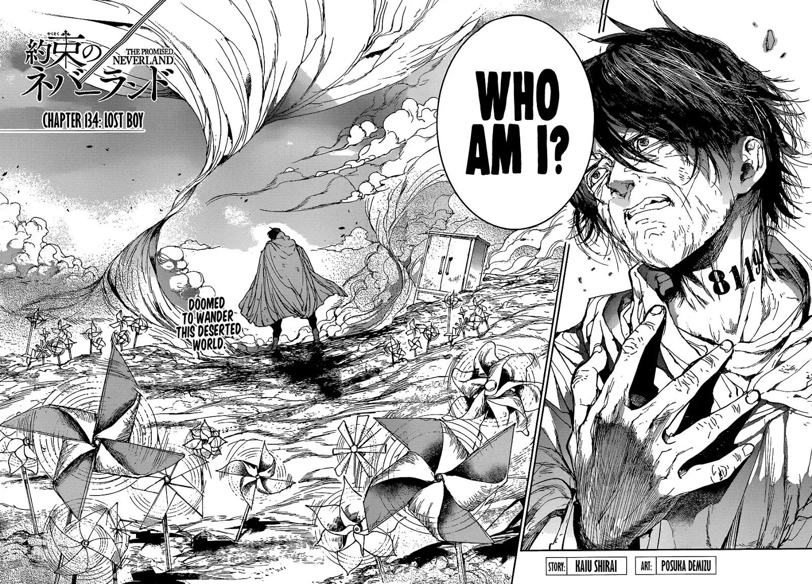 Yakusoku No Neverland Chapter 134  Online Free Manga Read Image 3