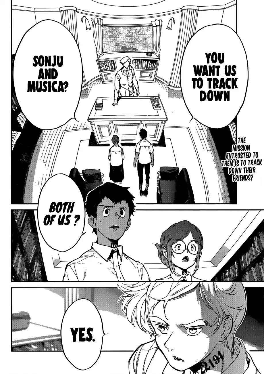 Yakusoku No Neverland Chapter 135  Online Free Manga Read Image 3