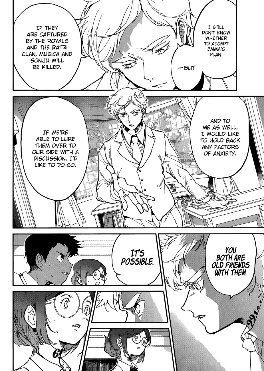 Yakusoku No Neverland Chapter 135  Online Free Manga Read Image 5