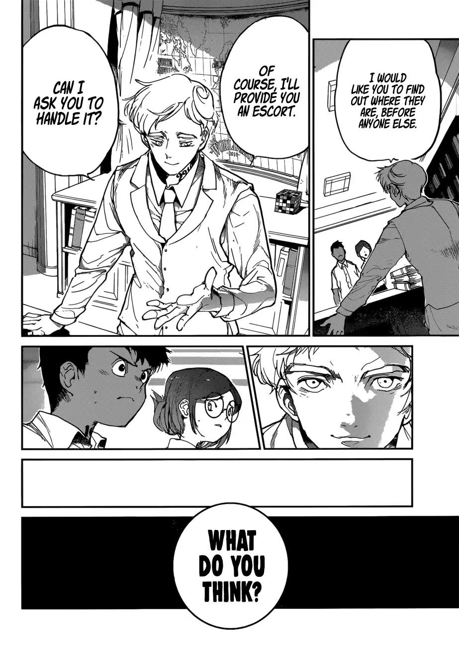 Yakusoku No Neverland Chapter 135  Online Free Manga Read Image 9