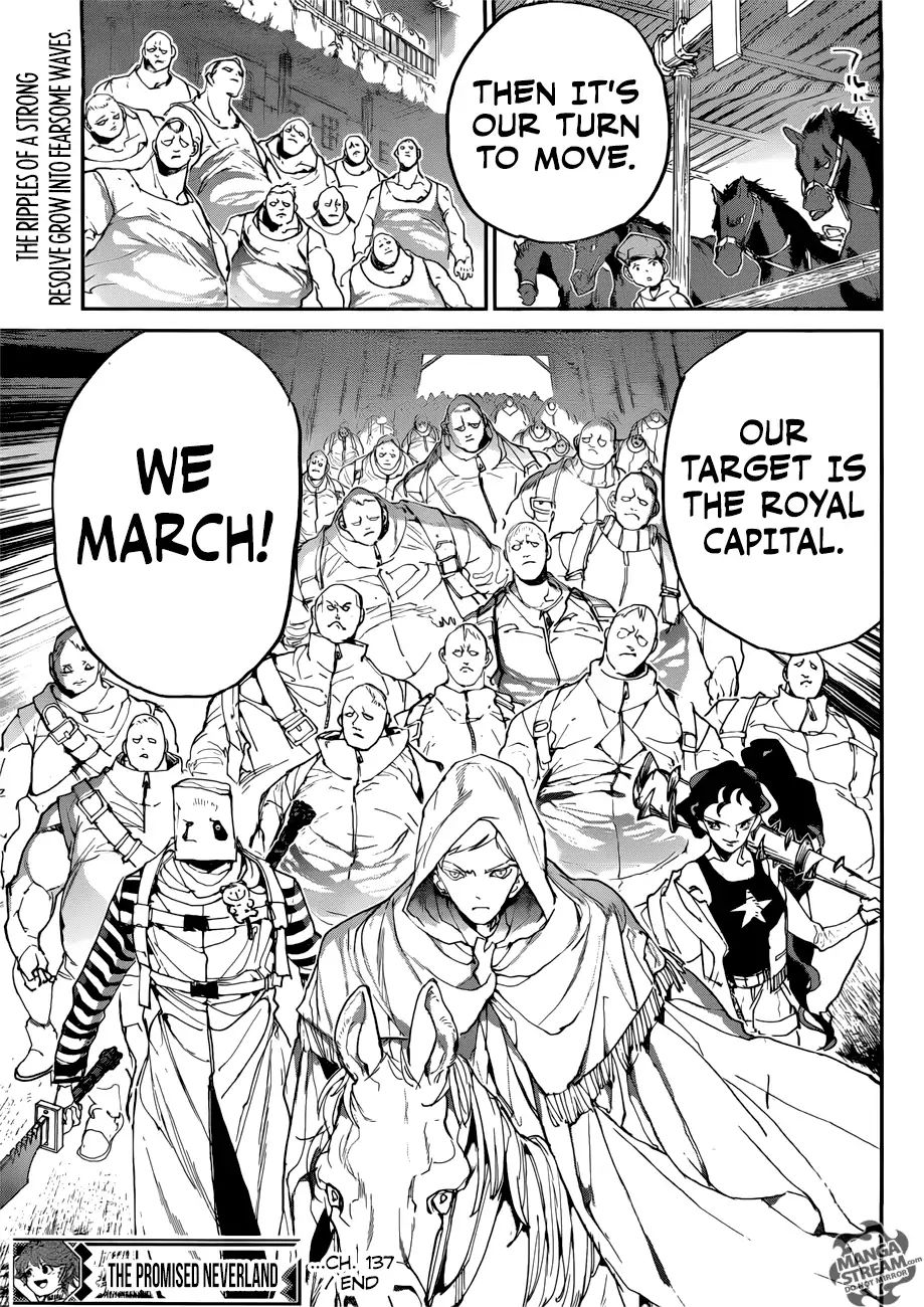 Yakusoku No Neverland Chapter 137  Online Free Manga Read Image 18