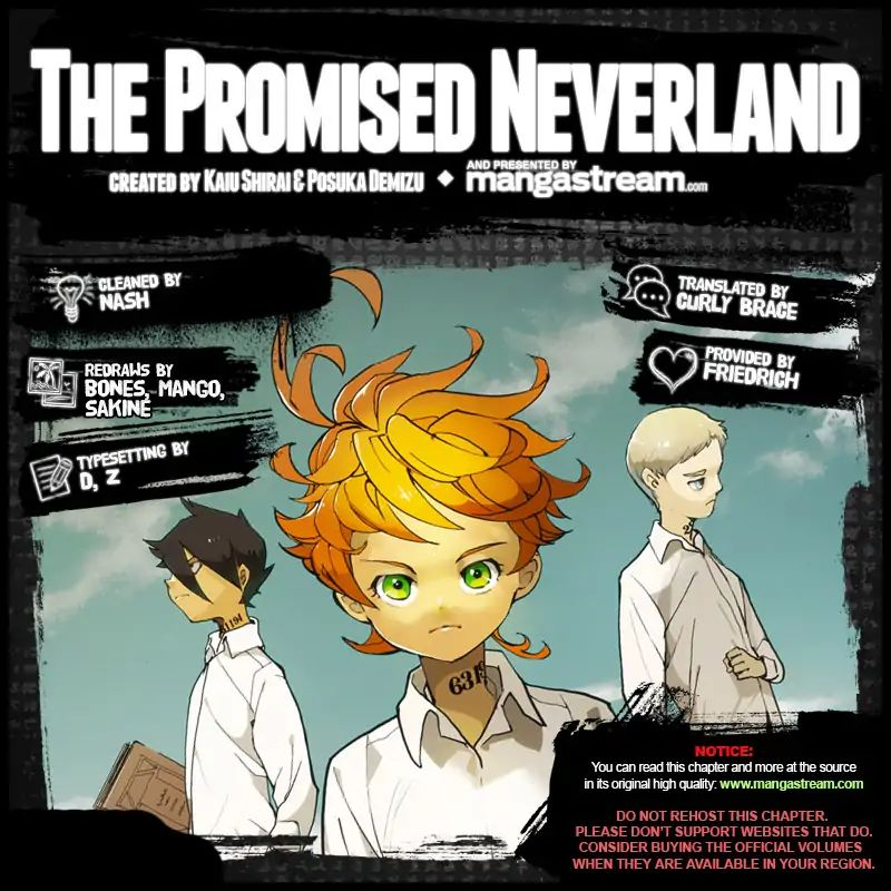 Yakusoku No Neverland Chapter 137  Online Free Manga Read Image 2