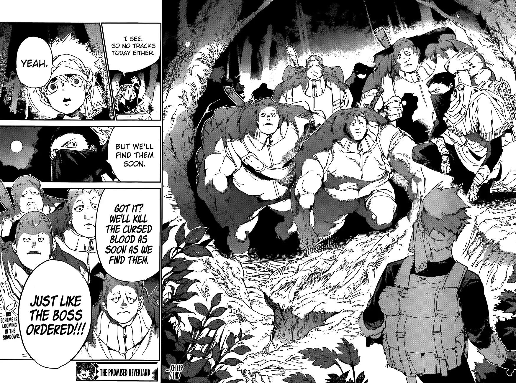 Yakusoku No Neverland Chapter 139  Online Free Manga Read Image 19