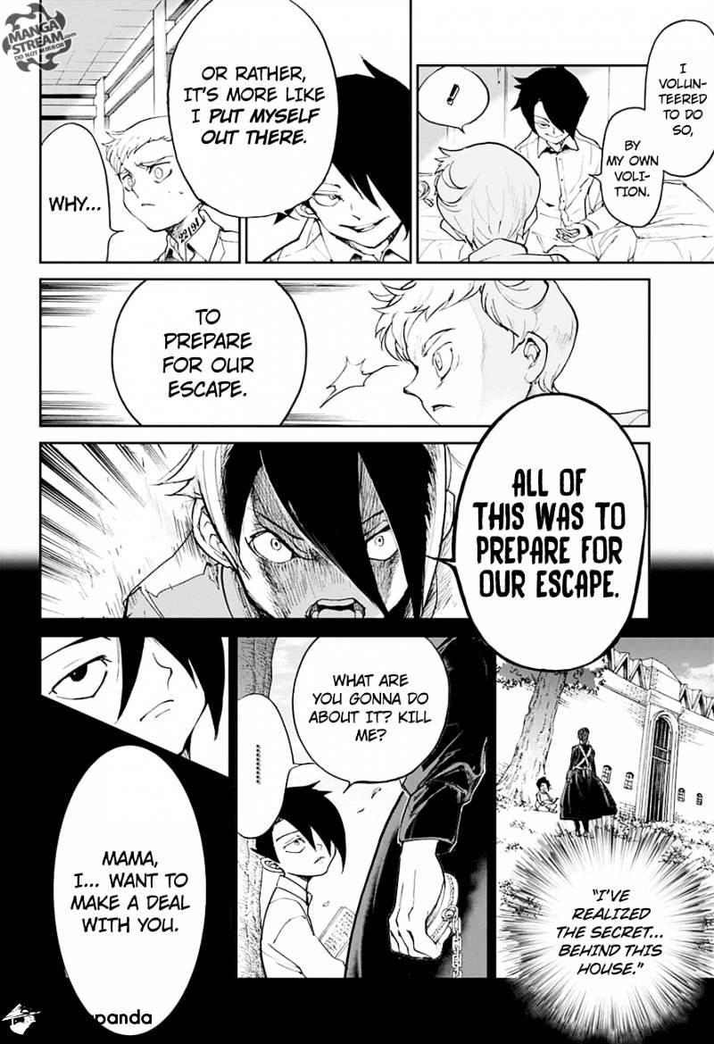 Yakusoku No Neverland Chapter 14  Online Free Manga Read Image 3