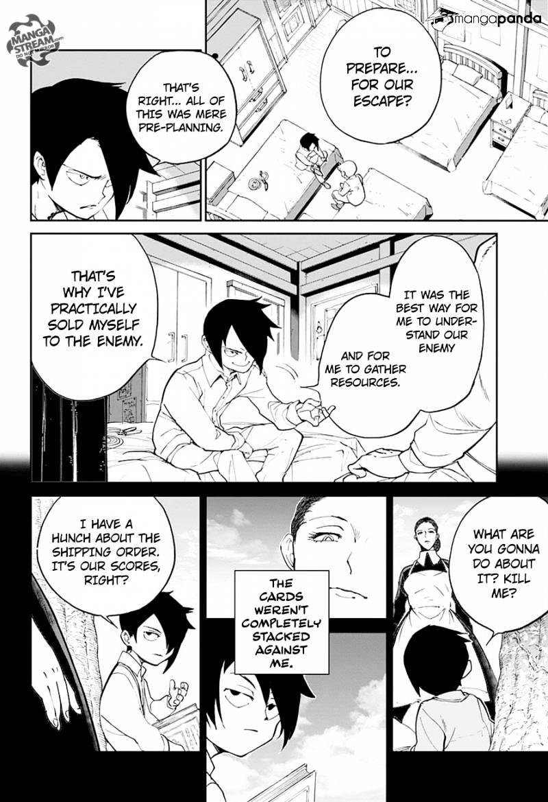 Yakusoku No Neverland Chapter 14  Online Free Manga Read Image 5