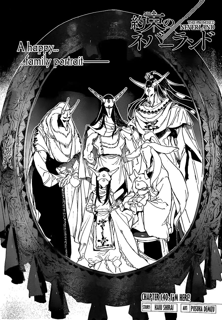 Yakusoku No Neverland Chapter 140  Online Free Manga Read Image 1