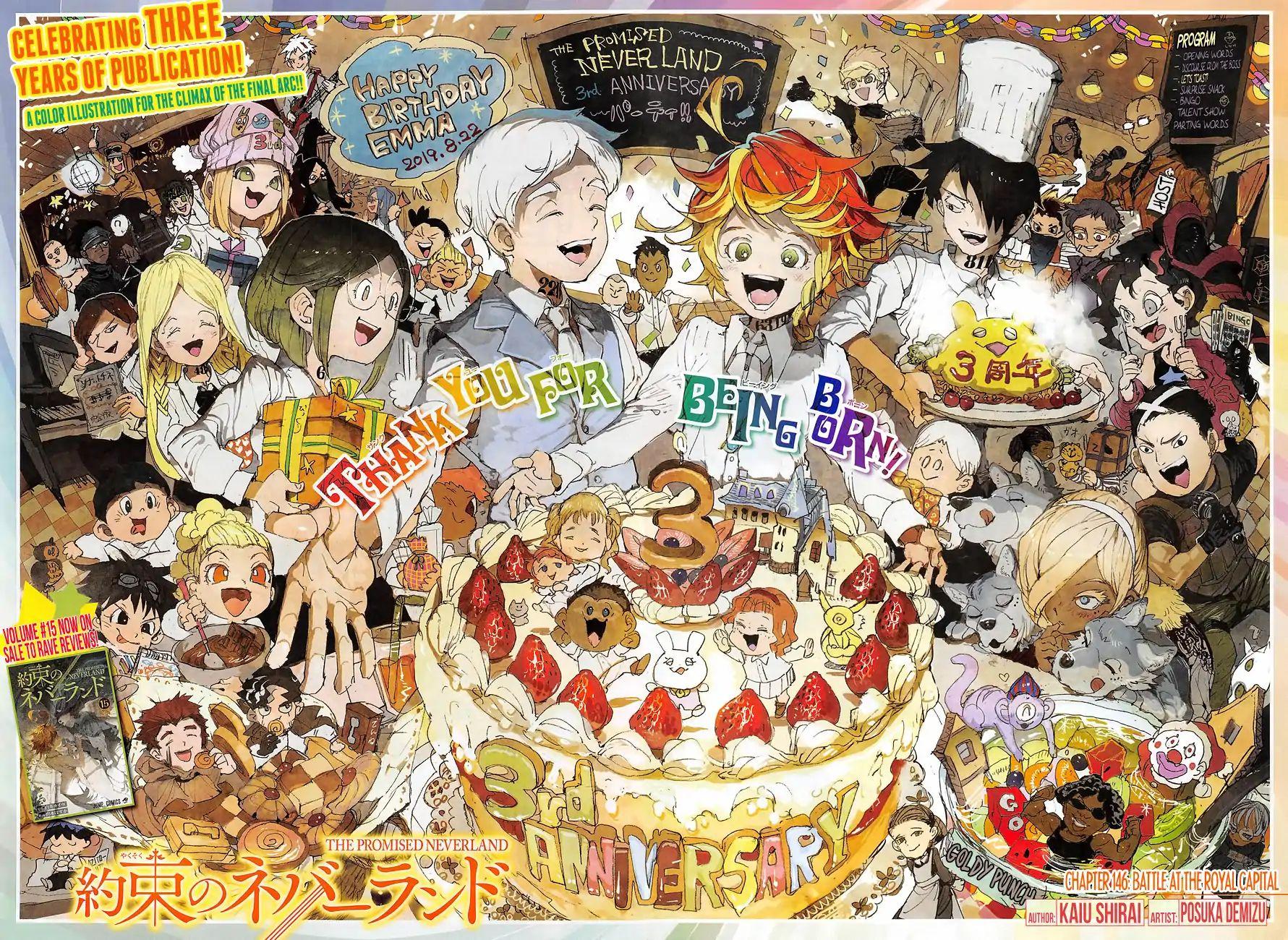 Yakusoku No Neverland Chapter 146  Online Free Manga Read Image 1